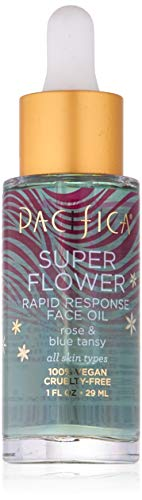 Pacifica Beauty Super Flower Rapid Response Face Oil, 1 Fluid Ounce