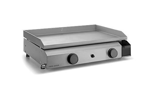 Forge Adour - Base g60i - Plancha gaz 6400w Plaque INOX 59.5x39.5cm