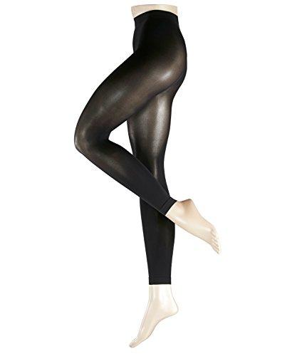 ESPRIT Damen Leggings 50 DEN, Baumwollmischung, 1 Stück, Schwarz (Black 3000), Größe: 44-46