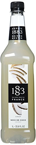 1883 Routin Coconut Syrup, 1er Pack (1 x 1 l)