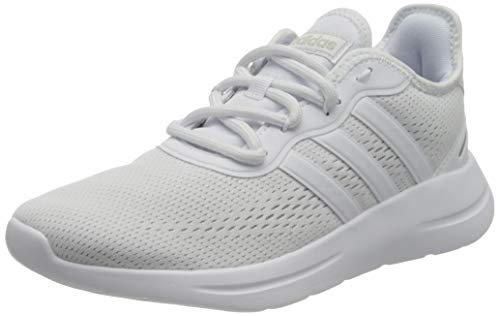 Adidas Womens LITE RACER RBN 2.0 Running Shoe, FTWWHT/FTWWHT/GRETWO, 40 EU
