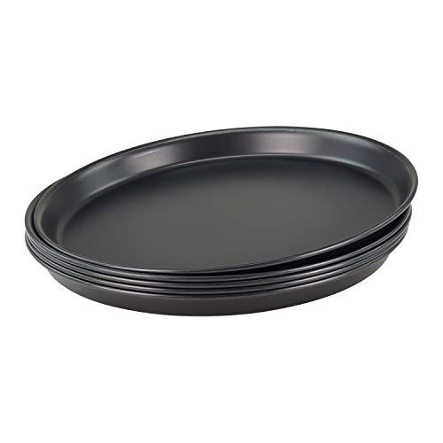 Pizzablech rund aus Blaublech PB_Ø28cm/5 Stück