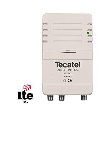 Amplificador Vivienda UHF 24dB 2 Salidas LTE 5G