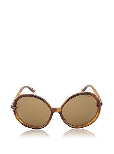 Tom Ford Für Frau 0167 Caithlyn Tortoise / Brown Kunststoffgestell Sonnenbrillen