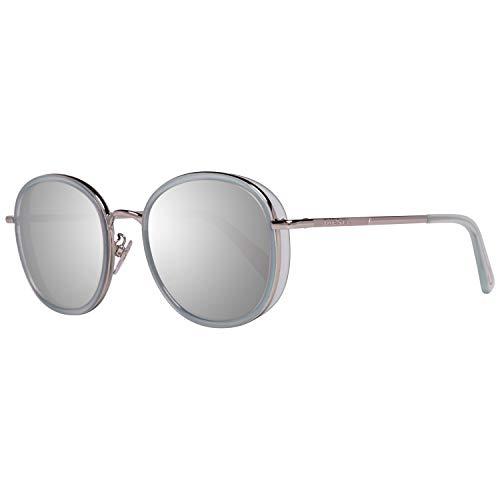 Diesel Sonnenbrille Dl0245-K 5493C Gafas de sol, Plateado (Silver), 54 Unisex Adulto