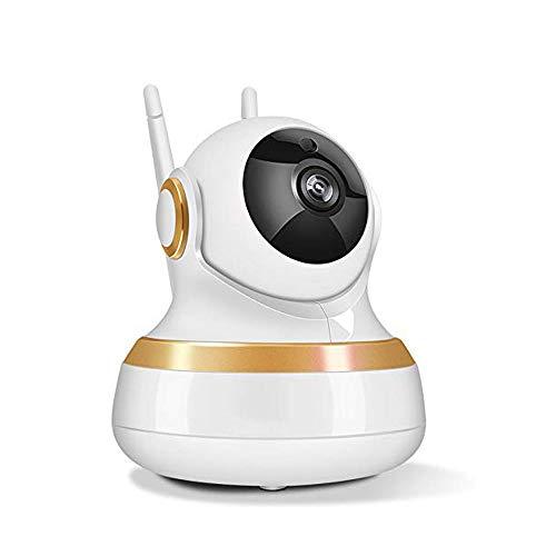 XHMCDZ Cámara de seguridad inalámbrica para el hogar inteligente, 1080p, detección de movimiento, audio bidireccional y visión nocturna, grabación local o en la nube, visualización remota de aplicacio