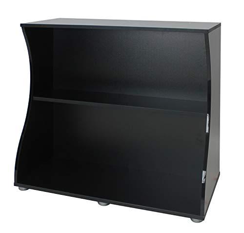 Fluval 14987 Flex 123l kast open zwart, zwart