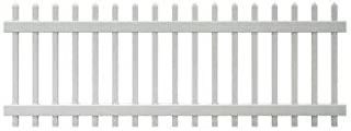 Veranda 3 ft. x 8 ft. Chelsea Spaced Picket Vinyl Fence Panel