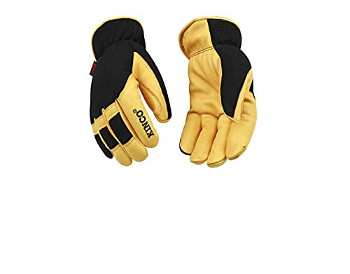 Kinco Pro Lined Premium Grain Deerskin & Synthetic Hybrid Glove
