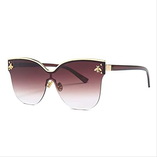 ODNJEMSD Gafas De Sol De Gran Montura De Moda Gafas De Sol para Mujer Nuevas Gafas De Sol De Tendencia