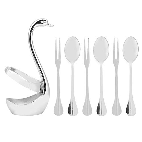 Cicitop Set of 4 Soup Ladle Wheat Straw Ladle Spoon Long Handle Soup Spoon Ladle with Filter Hole