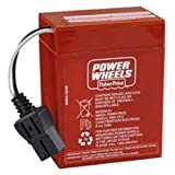 Technical Precision Replacement for Fisher Price Barbie Harley Davidson Motorcycle Power Wheels Battery