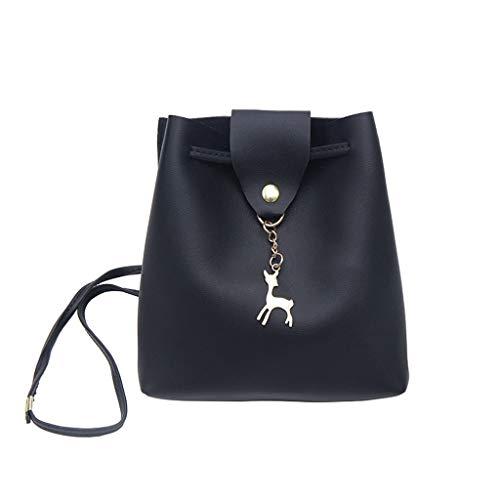 TIFIY Damen Rucksack Damenmode Flip Pure-Color Fawn Retro Schultertasche Purse Flap Bag Arbeits Täglich Bankett Elegant Tasche(Mehrfarbig)