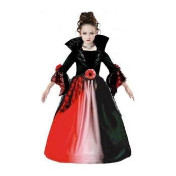 Partilandia Disfraz Vampiresa Delux para niña(4-6 años) 18676 ...
