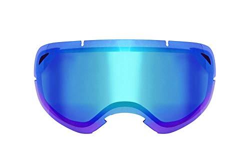 Ethen LS0302 Skibril 03 Blue Unisex Adult, meerkleurig, unicaat