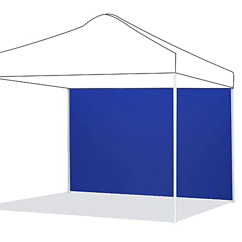 Paneles laterales para cenador impermeable, panel lateral de tela Oxford 210D, panel lateral de repuesto para cenador de jardín exterior (azul, ordenador)