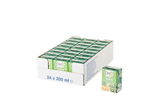 Orasì Crema di Soia da Cucina, Originale, 200 ml, 24 Unità