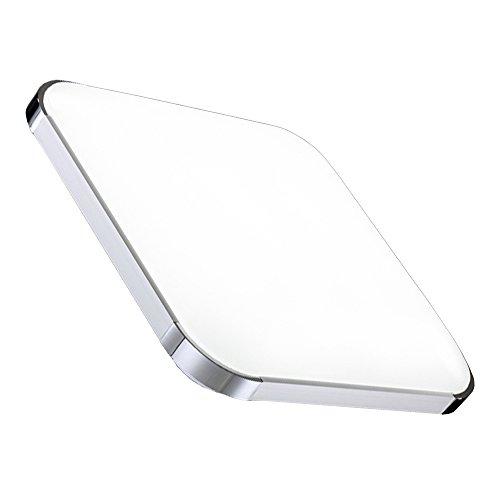 Hengda® 36W lámpara de techo led blanca fría de sala de estar luz de cocina lámpara de techo panel de lámpara de techo habitación ultraslim ahorro de energía lámpara de techo cocina
