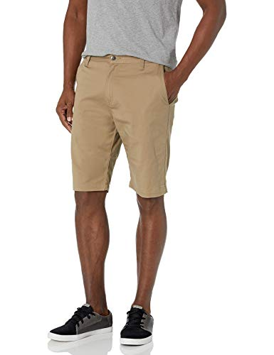 Volcom Men's Vmonty Stretch Chino Short, KHAKI, 32