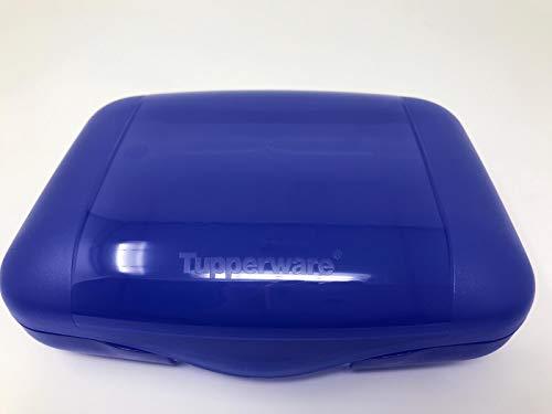 Tupper TUPPERWARE to Go SehnSucht lila blau Sandwich-Box Brotbox Behälter nimm Mich mit