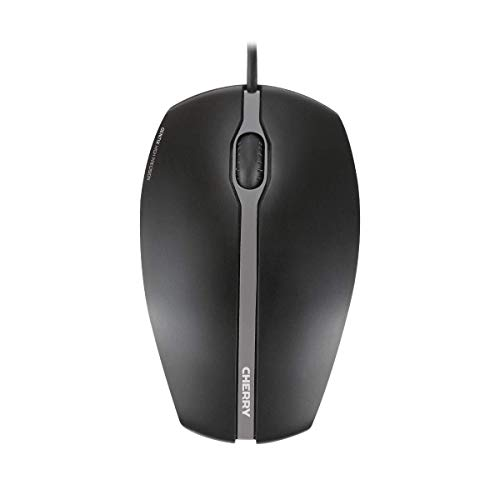 Maus CHERRY GENTIX Corded Optical Mouse Schwarz