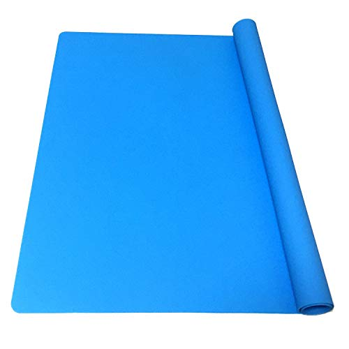 Image of the EPHome Extra Large Multipurpose Silicone Nonstick Pastry Mat, Heat Resistant Nonskid Table Mat, Countertop Protector