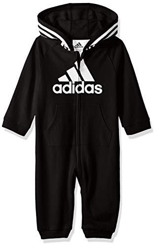 adidas Baby Girls Coverall, Black ark, 18 Months