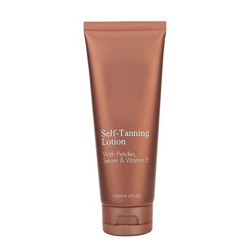 125ml Autobronceador Sin sol Hidratante de larga duración Crema bronceadora sin sol Loción bronceadora para piel bronceadora más oscura