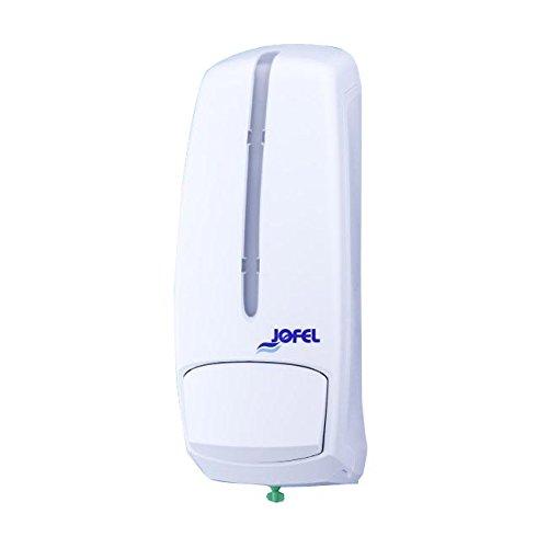 Jofel AC96000 Smart Dosificador de Jabón Rellenable, 1 L, Blanco