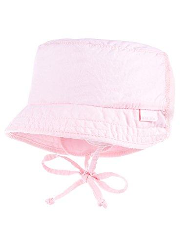 maximo Hütchen Mit Jerseyeinsatz Chapeau De Soleil, Rose (Zartrosa 30), 43 Bébé Fille