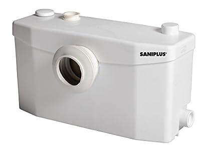 Foto di SANIPLUS Silence - Trituratore WC con POMPA x Bagno Completo - Code SSS