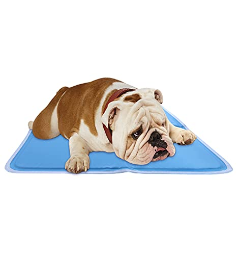 CHILLZ Dog Cooling Mat, Large – Pressure Activated Gel Cooling Mat for Dogs and Cats, Perfect for Hot Summer Days - This Dog Cooling Pad Needs No Refrigeration or Electricity – 36 x 20 Inches