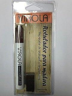Rotulador + cera para madera reparador de arañazos y