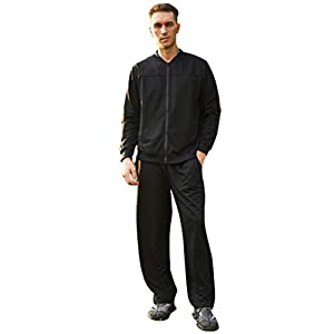 COOFANDY Men's Athletic Tracksuit Casual Full Zip Sweatsuits 2 Piece Jogging Suits for Running, Fitness, Exercise