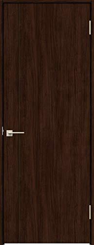ラシッサS 標準ドア ASTH-LAC 錠付き 0620 W:734mm × H:2,023mm 吊元:右吊元 本体色/枠色:クリエダーク(DD) 枠種類:ノンケーシング171(壁厚:131-145) 沓摺:なし 把手:サークルB 鍵種類:丸型シリンダー錠