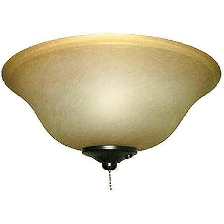 Harbor Breeze 2 Light Black Bronze Incandescent Ceiling Fan Light Kit With Alabaster Glass Or Shade Amazon Com