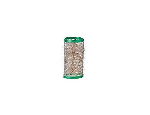 Comair 7000901 Lot de 12 rouleaux de fil avec poils Vert 63 mm