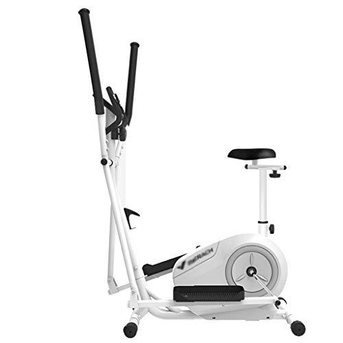 LKK-KK Máquina elíptica Inicio Silencio magnética Gym Equipment Control Elipsómetro caminante del espacio interior de dos vías de control magnético del volante de pasos que soportan el peso de 130 kg