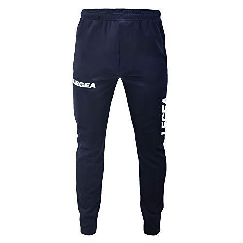 LEGEA P204, Pantaloni Uomo, Blu, XL
