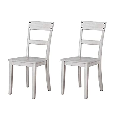 Signature Design by Ashley – Loratti Dining Room Chair – Set of 2 – Grey