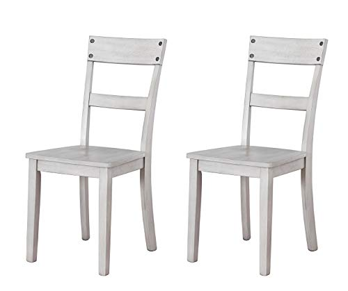 Signature Design by Ashley - Loratti Dining Room Chair - Set of 2 - Gray