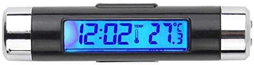 Klok Bureau Alarm Kleine Auto Datum Thermometer Draagbare Multifunctionele Energiebesparing Eenvoudig te installeren Digitale Vloeibare Kristal