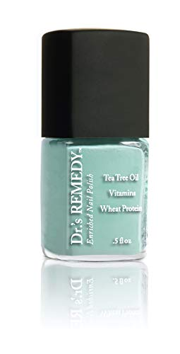 Dr.'s REMEDY Enriched Nail Polish, TRUSTING Turquoise .5 Fluid Oz