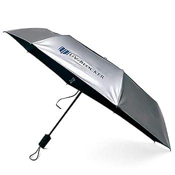 UV-Blocking Sun Protection UV Umbrella - Handheld Portable Beach Umbrellas Provide UPF 55+ Protection & Effectively Block 99% of UVA UVB Light - Windproof Sun Blocking Umbrella - Compact