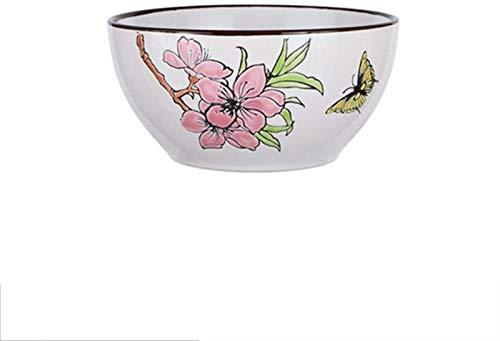 GZA Ciotola in Ceramica di Stile della tagliatella del Grano Vassoio della Frutta Fresca Piatto da tavola Dieta for casa 14.1x7.5cm for Family Wedding Gifts