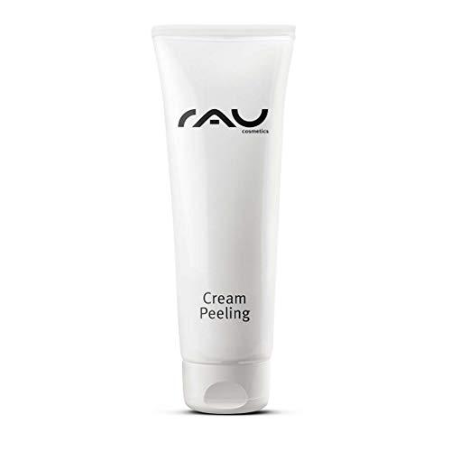 RAU Cream Peeling Crema Scrub, 75 ml, Gommage Viso, con particelle abrasive naturali Esfoliante Viso Detergente Delicato molto efficace Gommage meccanico del viso per una pulizia in profondità …