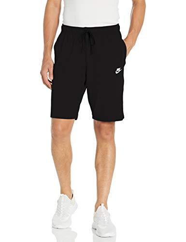 Nike Herren M NSW Club Short JSY Sport, Black/(White), L