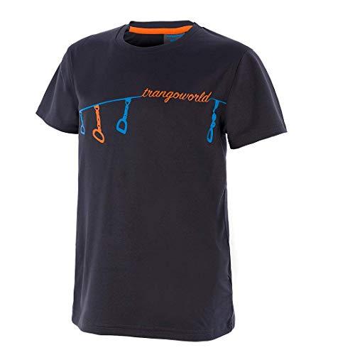 Trangoworld Sabaris T-Shirt Unisexe Enfant M Gris (Anthracite)