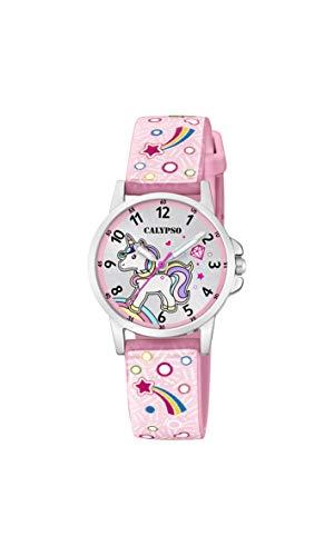Calypso Watches Unisex Kinder Analog Quarz Uhr mit Plastik Armband K5776/5