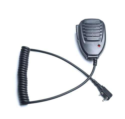 KONGKONG RiREN 100% Compatibile con BAOFENG WALKIE Talkie 50KM Microfono Altoparlante Compatibile con BAOFENG UV- 5R BF- 888S Accessori di Comunicazione Radio Midland Radio